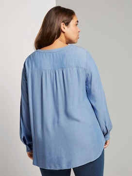 Blouse met lange mouwen - 2 - Tom Tailor E-Shop Kollektion