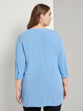Blouse with pleated details - 2 - My True Me