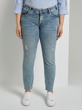 Skinny Fit Jeans mit Destroys - 1 - My True Me