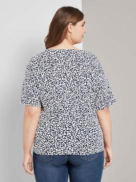 T-Shirt mit Knotendetail - 2 - My True Me