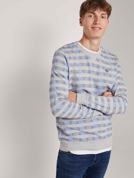 Gemustertes Sweatshirt - 5 - TOM TAILOR Denim
