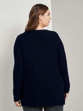 Pullover mit Streifenstruktur - 2 - My True Me