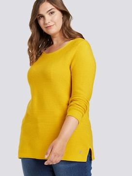 Pullover mit Streifenstruktur - 5 - My True Me