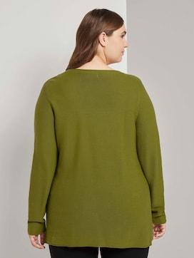 Striped sweater - 2 - My True Me