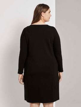 Schlichtes Kleid mit Reißverschlüssen - 2 - My True Me