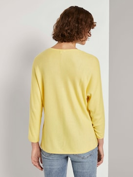 Jumper with batwing sleeves - 2 - TOM TAILOR