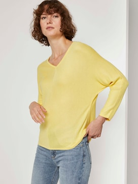 Jumper with batwing sleeves - 5 - TOM TAILOR