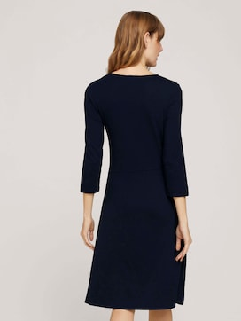 Jerseykleid in Wickeloptik - 2 - TOM TAILOR