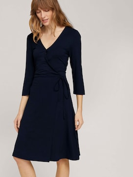 Wrap jersey jurk - 5 - TOM TAILOR