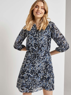 Chiffon-Kleid mit Blumenprint - 5 - TOM TAILOR