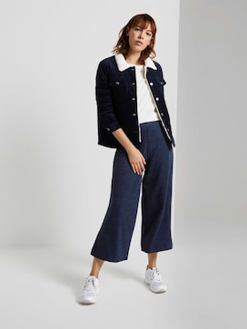 Weiche Culotte-Hose aus Strick - 3 - TOM TAILOR Denim