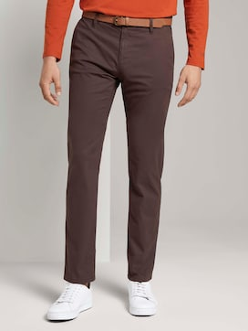 Travis Regular Chino Broek met riem - 1 - TOM TAILOR
