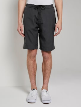 Jogger-Shorts mit Karomuster - 1 - TOM TAILOR Denim