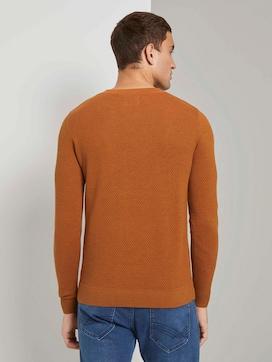 Pullover mit Strukturmuster - 2 - TOM TAILOR