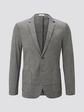 Jersey jas met fijn houndstooth patroon - 7 - TOM TAILOR