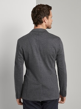 Jersey jacket with a fine houndstooth pattern - 2 - TOM TAILOR