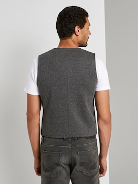 Suit vest with a houndstooth pattern - 2 - TOM TAILOR