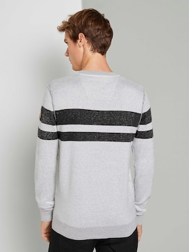 Melierter Strickpullover - 2 - TOM TAILOR