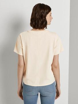 Jersey T-Shirt mit Stickerei - 2 - TOM TAILOR Denim