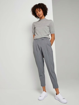 Mia Straight Bundfaltenhose - 3 - Tom Tailor E-Shop Kollektion