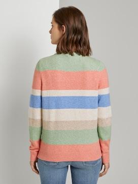 Weicher Pullover mit Streifenmuster - 2 - TOM TAILOR Denim