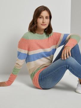 Weicher Pullover mit Streifenmuster - 5 - TOM TAILOR Denim