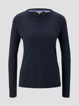 Loose knitted pullover - 7 - Tom Tailor E-Shop Kollektion