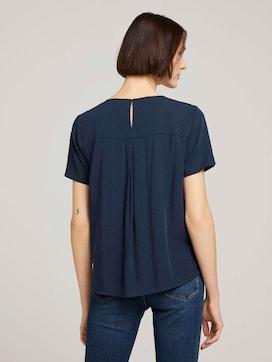 Textured blouse shirt - 2 - TOM TAILOR Denim