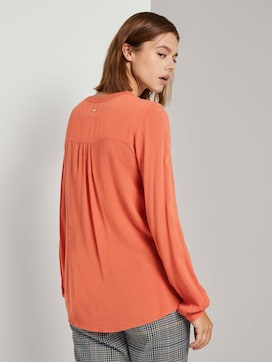 Tunic with a Henley neckline - 2 - TOM TAILOR Denim