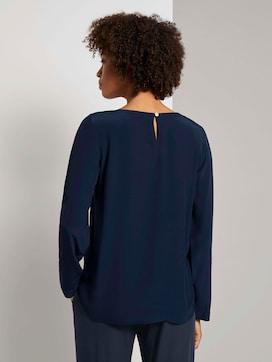 Basic blouse met ronde hals - 2 - Mine to five