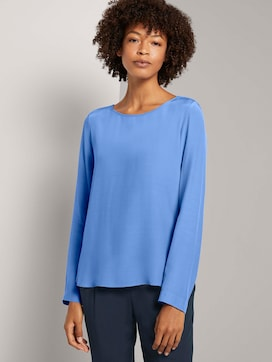 Basic blouse met ronde hals - 5 - Mine to five