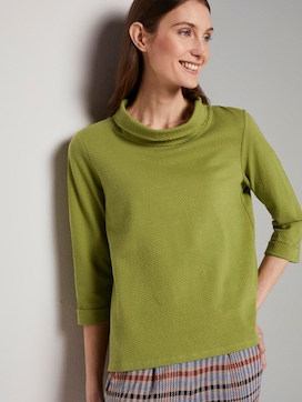 Turtle-Neck Sweater - 5 - TOM TAILOR