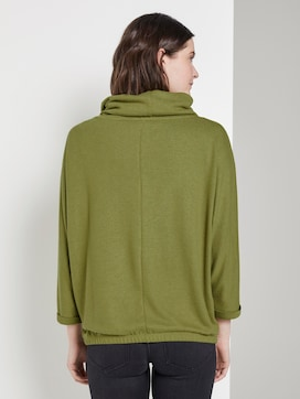 Turtle-Neck Sweater - 2 - TOM TAILOR