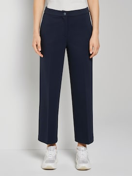 Lea Cropped Flared Hose - 1 - TOM TAILOR