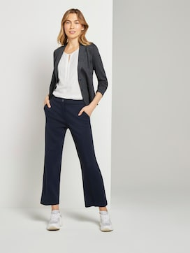 Lea Cropped Flared Hose - 3 - TOM TAILOR