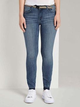 Alexa Skinny Jeans mit gefranstem Bein - 1 - TOM TAILOR