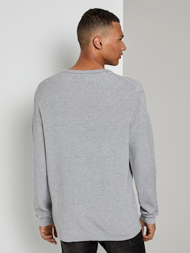Melierter Pullover - 2 - TOM TAILOR Denim
