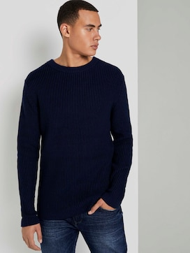 Schlichter Pullover - 5 - TOM TAILOR Denim