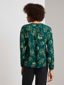 Blouse in a floral pattern - 2 - Mine to five