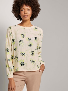 Blouse in a floral pattern - 5 - Tom Tailor E-Shop Kollektion
