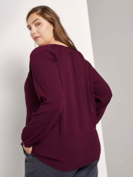 Getextureerde blouse met raglanmouwen - 2 - Tom Tailor E-Shop Kollektion