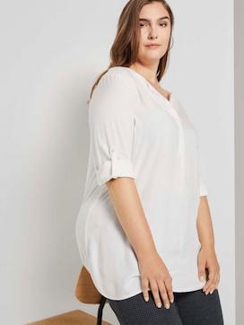 Long blouse with neckline details - 5 - Tom Tailor E-Shop Kollektion