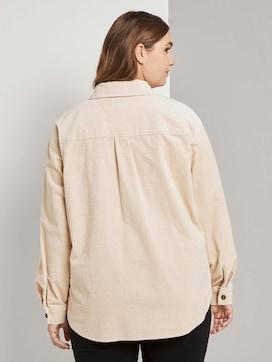 Cord-Hemd mit Brusttaschen - 2 - Tom Tailor E-Shop Kollektion