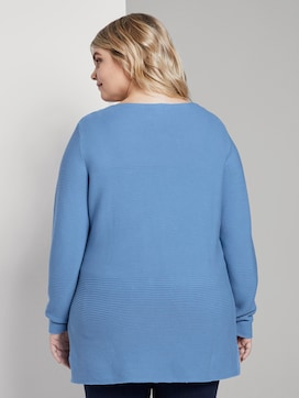 Weicher Ottoman Pullover - 2 - My True Me