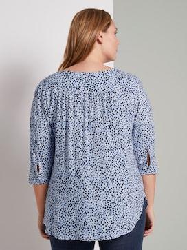 Tunic with pleated details - 2 - Tom Tailor E-Shop Kollektion