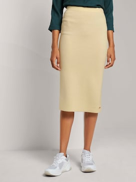 High-waist midi skirt - 1 - Mine to five