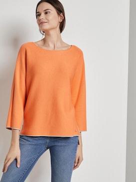 Pullover mit leichten Fledermausärmeln - 5 - TOM TAILOR