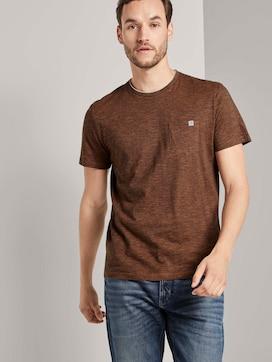 Fein gestreiftes T-Shirt mit Brusttasche - 5 - TOM TAILOR