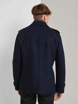 Caban jacket with a quilted insert - 2 - TOM TAILOR Denim