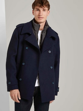 Caban jacket with a quilted insert - 5 - TOM TAILOR Denim